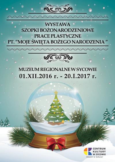 Wystawa szopki Bożonarodzeniowe - prace plastyczne pt.