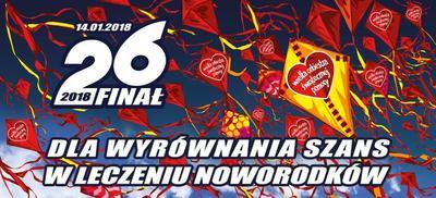 26. Final Wielkiej Orkiestry Świątecznej Pomocy w Sycowie
