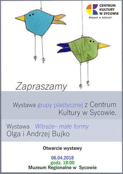 WYSTAWA PRAC GRUPY PLASTYCZNEJ