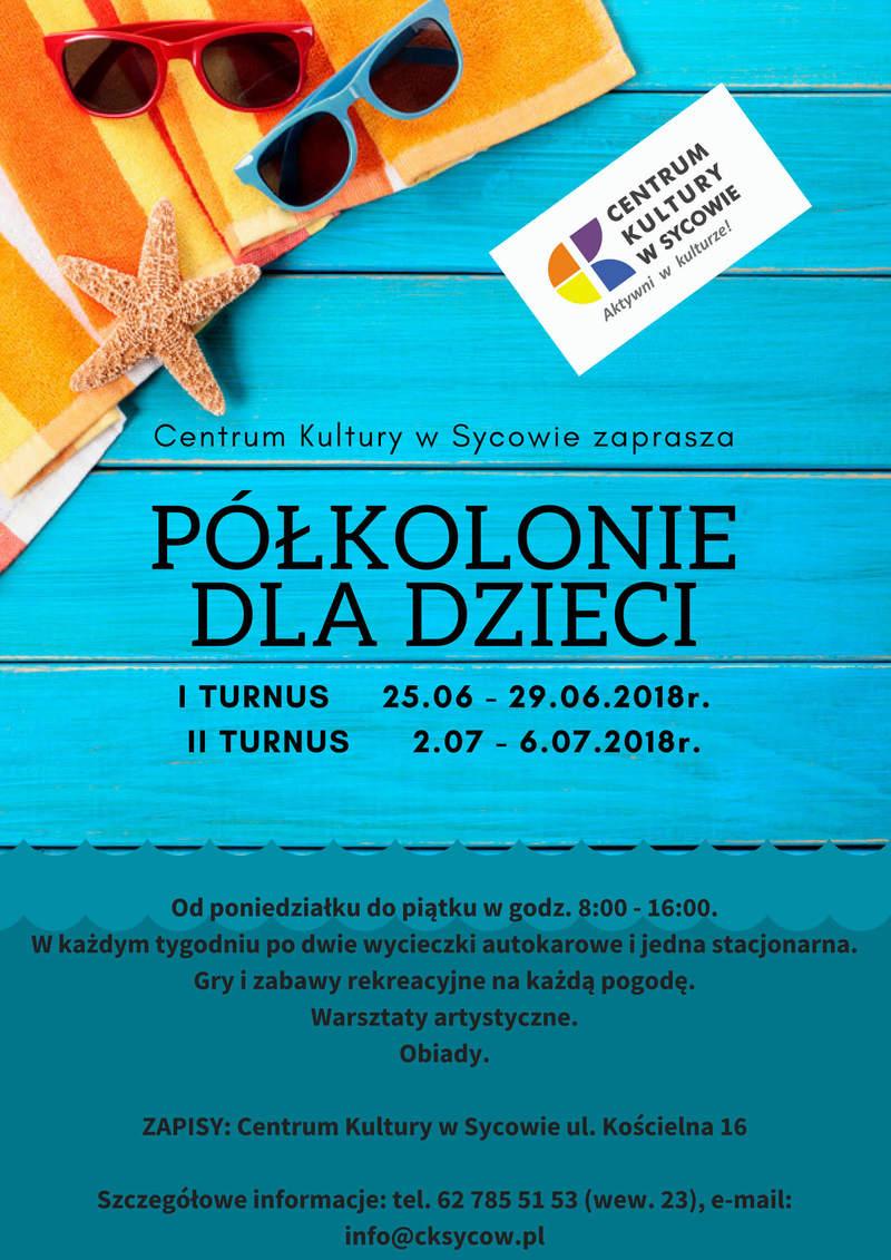 Półkolonie w Centrum Kultury w Sycowie