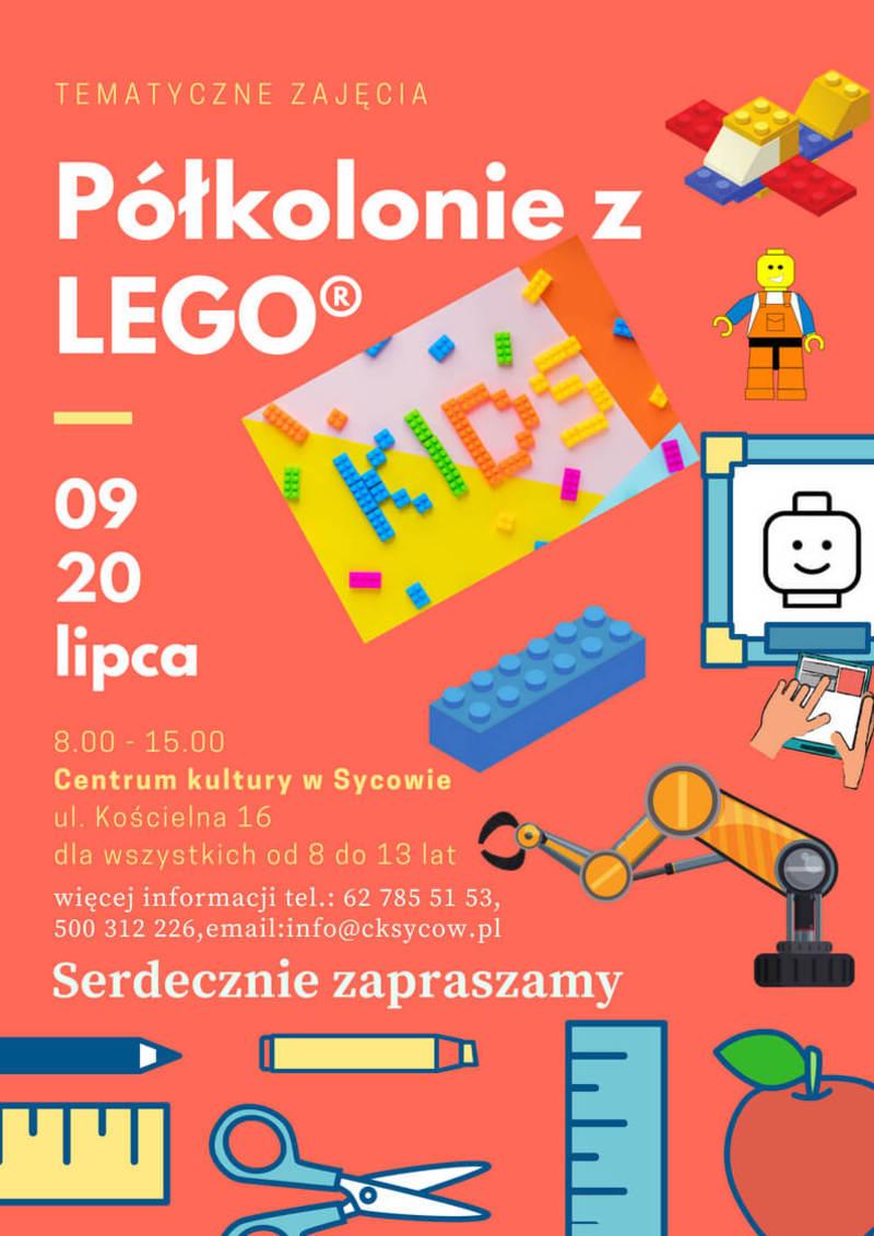 Półkolonie z LEGO