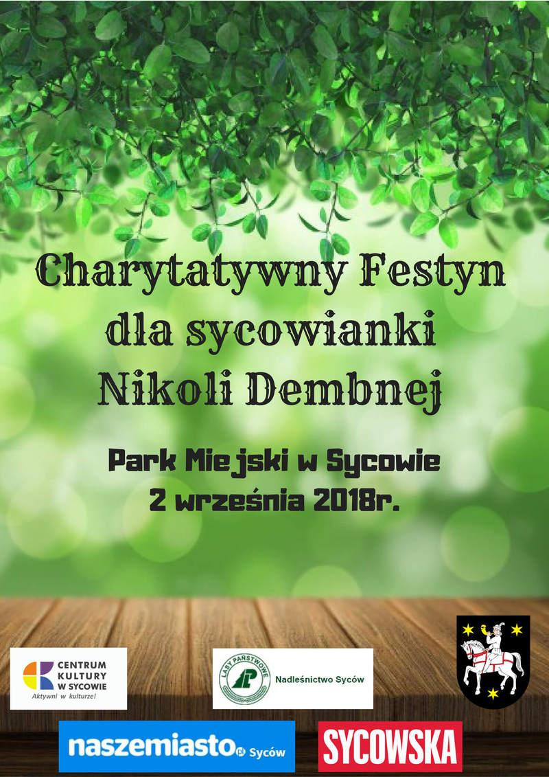 Festyn Charytatywny dla sycowianki Nikoli Dembnej