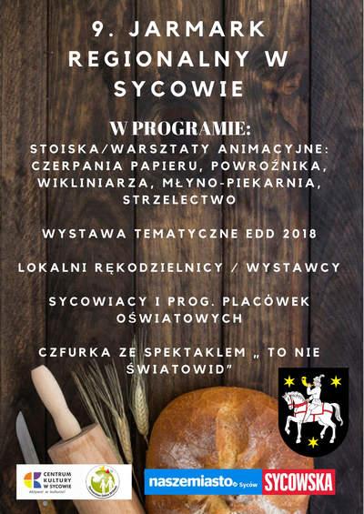 9. Jarmark Regionalny w Sycowie 2018