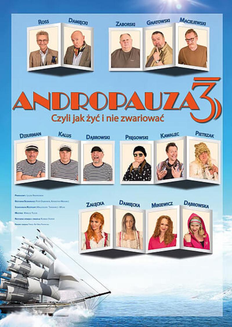 ANDROPAUZA 3 - CZYLI JAK ŻYĆ I NIE ZWARIOWAĆ