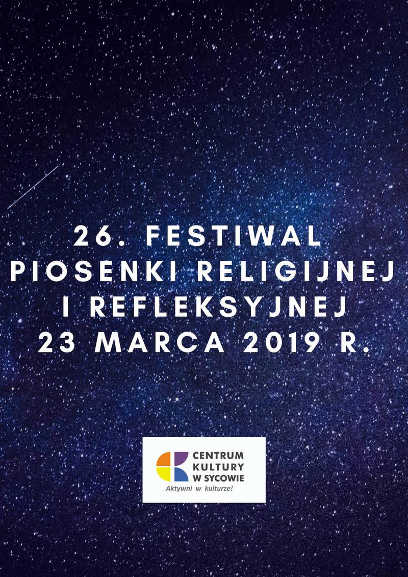 26. Festiwal Piosenki Religijnej i Refleksyjnej