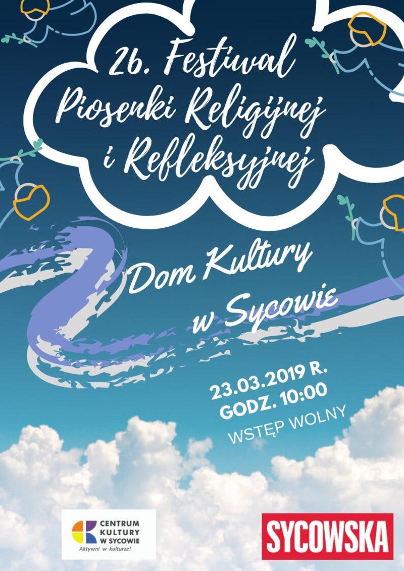 26. Festiwal Piosenki Religijnej i Refleksyjnej 2019