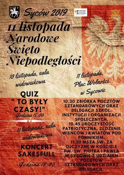 Święto Niepodległej w Sycowie
