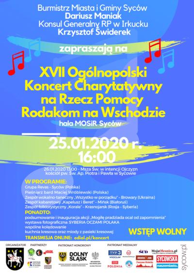 17. Ogólnopolski Koncert Charytatywny na Rzecz Pomocy Rodakom na Wschodzie