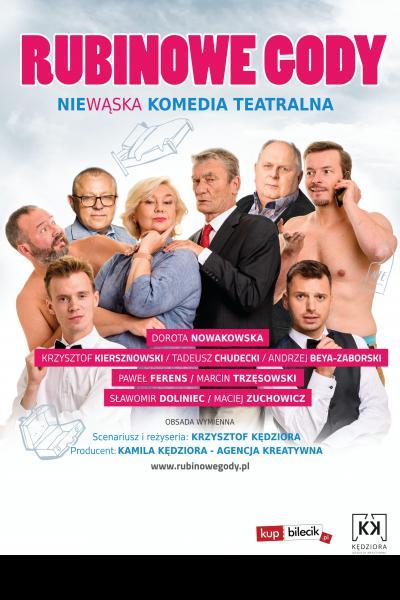 RUBINOWE GODY- komedia teatralna