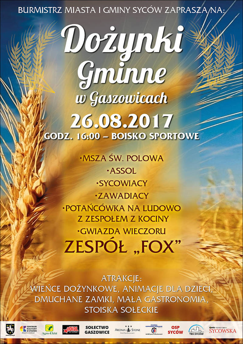 Dożynki Gminne w Gaszowicach